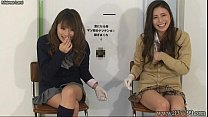 Japanese femdom give handjob and cunnilingus to...