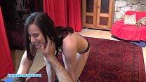Fresh 18yo amateur lapdances for horny stranger