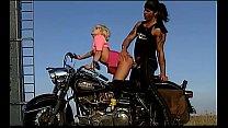 Nicolette Gets Fuck Over a Motorbike