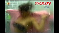 shower! at nipslip brother big celeb mexican campomanes Fabiola