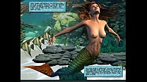 3D Comic: Mermaid
