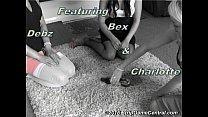 Bex, Debz & Charlotte play Strip Spin-the-Bottle porn videos