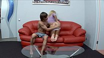 Baby doll porn with cutie jumping on rock hard ...