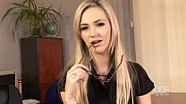 shower the in herself with plays knight sophia blond young Horny