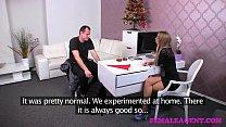 FemaleAgent Bad Santa gets a great casting foot job porn videos