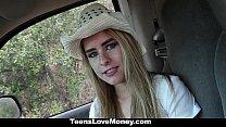 Teamsket - Cute Girl Paid To Fuck in Public porn videos