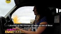 FemaleFakeTaxi Sexy horny tattoed driver enjoys a sticky facial