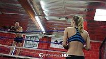 HD FantasyHD - Natalia Starr wrestles her way i...