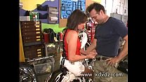 Valerie Luxe Receives Free Motorbike Repair In Exchange For Fucking The Mechanic porn videos