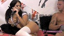 shebang.tv   beautiful girlfriend sucks and rides her boyfriends cock