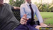 Photography student fucked in the park - download porn videos