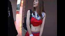 Cheerleader Scarlett Faye fucks for money thumb