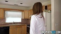 PropertySex - House flipping real estate agent fucks her handyman porn videos