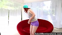 AdultMemberZone - Hot redhead is addicted to on...