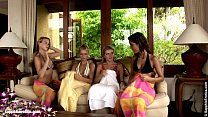erot sapphic from hanna and sharon rene jackie with group lesbian foursome Fiery