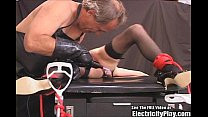 Cheating Whore BDSM Electricity Punished and Cr...