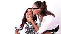 Classroom lesbians with Skin Diamond & Alison Tyler
