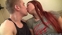 Young Libertines - Pierced redhead loves to fuck
