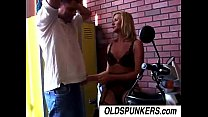 Ginger is a sexy blonde MILF who loves the taste of cum porn videos