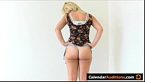 Porn Audition With Hot Blonde Amateur Calendar ...