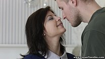 Casual Teen Sex - Fucking with a real gentleman