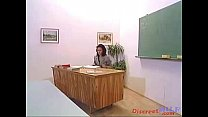 Fucking hard the MILF teacher
