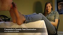 Cassandra's Sweaty Feet Domination - clips4sale.com/8983/15844880