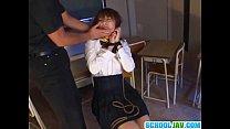 Japanese schoolgirl fucked hard