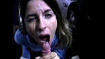 parking in facial great and Blowjob