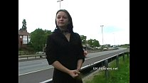 Teen student nude in public and amateur flashin...