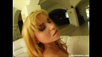 All Internal Blonde's pussy is fucked. Cum ooze...