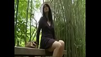 Japanese Love Story ||School Girl is seduced in public toilet and fucked outside porn videos