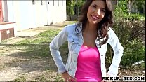 Pretty Czech babe Bessi pounded for cash