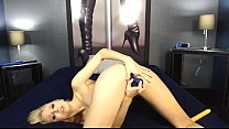 Hot Blonde Toys on Webcam - live cam - http:\/\/c...