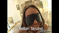 wide opens strong Delilah