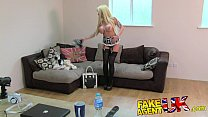 FakeAgentUK Glamour model turns cock jockey in ...