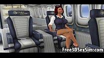 บนเครื่องบินส่วนตัว สาวที่เป็นแอร์โดนเล่นเสียวอย่างโหดมาก