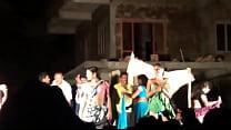 Public desi Telugu natukatti featuring local randis nude on stage thumbnail