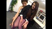 Секс с привлекательной японкой