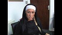 Krystal Niles gives a harsh handjob)