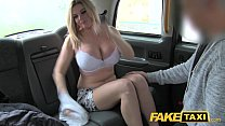Fake Taxi Busty tv star gets a sticky facial thumb