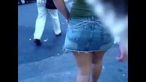 guatemala minifalda en Piernas