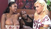 Порно анал с грудастыми блондинками