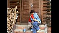 Русское видео тётя соблазняет племянника
