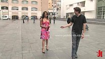Elegant slut banged in public and in club in to...