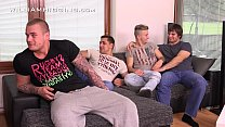 williamhiggins at party wank guys four Raw