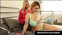 Incredibly Gorgeous Milf Julia Ann In JOI With Siri PornStar