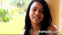 Camera Shy amateur black teen first time video