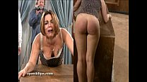 spanking serious a taken is bruntte Upset