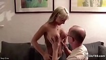 Step-Dad Seduce Young German Girl to Fuck when ...